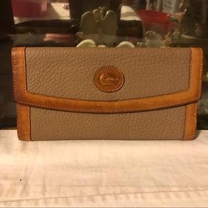 vintage Dooney and Bourke Leather Wallet